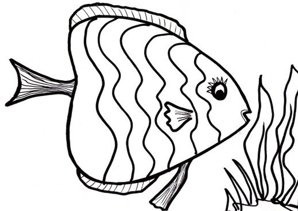 people fishing Colouring Pages (page 3)