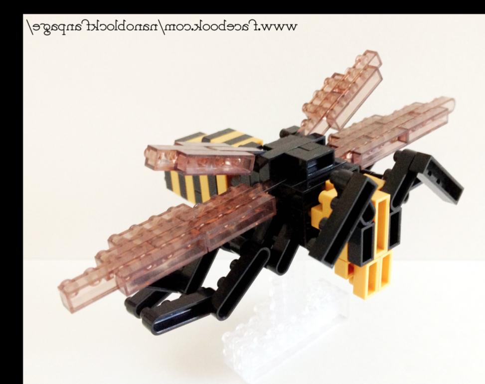 IST-005 (Giant Asian Hornet) | Nanoblock Fan Page