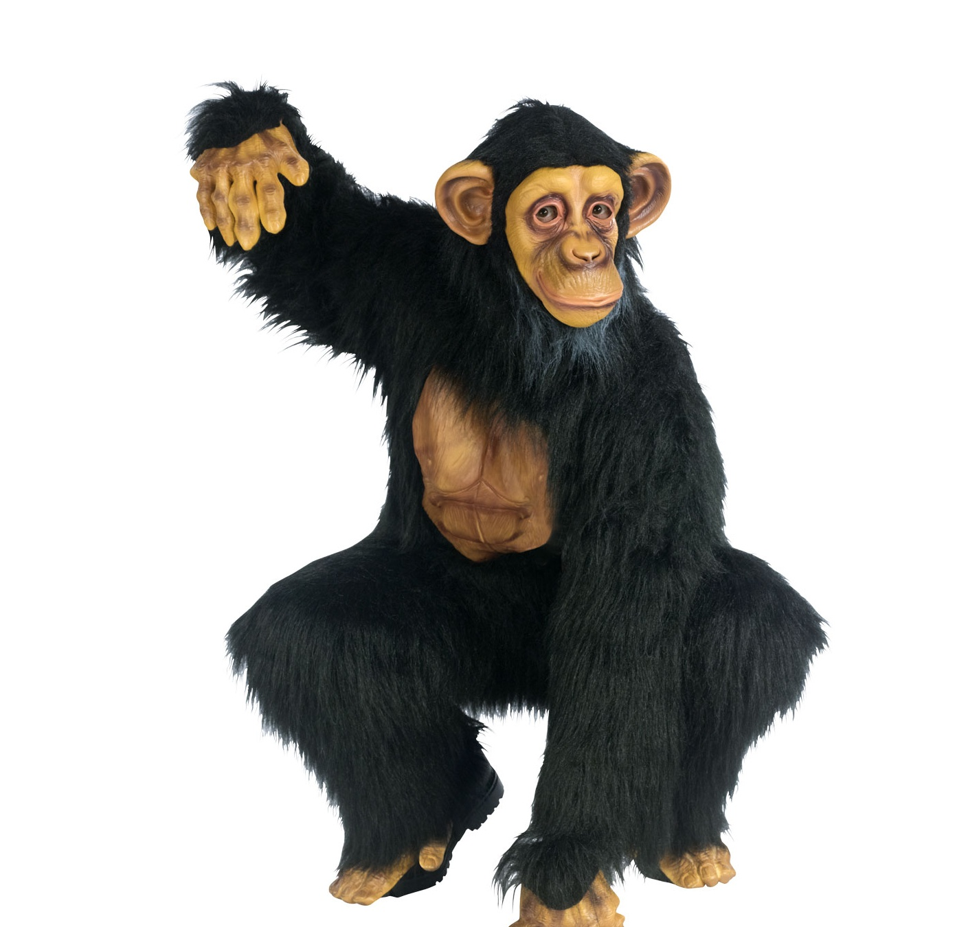 Details about Adults Complete Chimpanzee Monkey Gorilla Fancy Dress ...