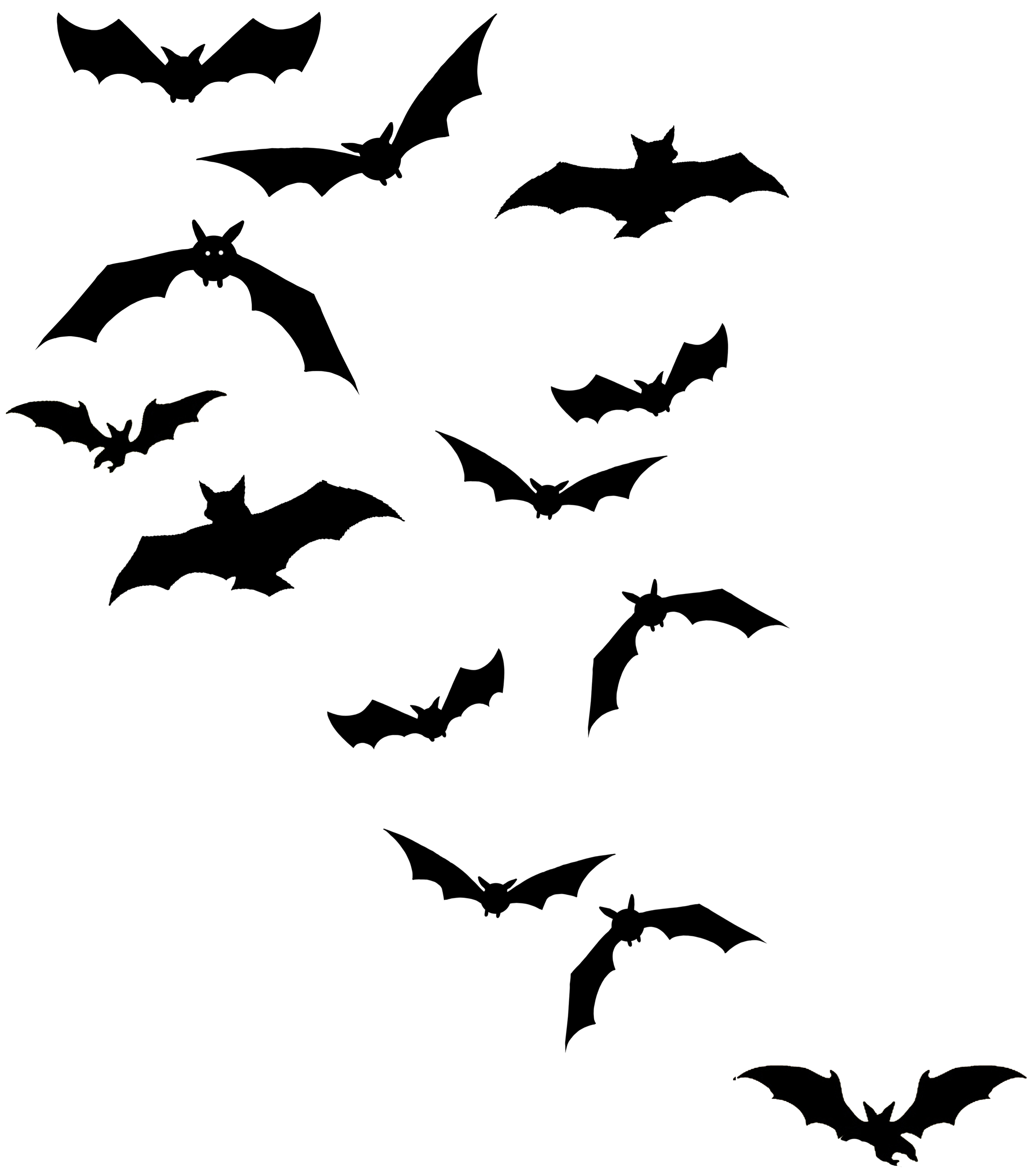 Flying Bats Tattoo Design