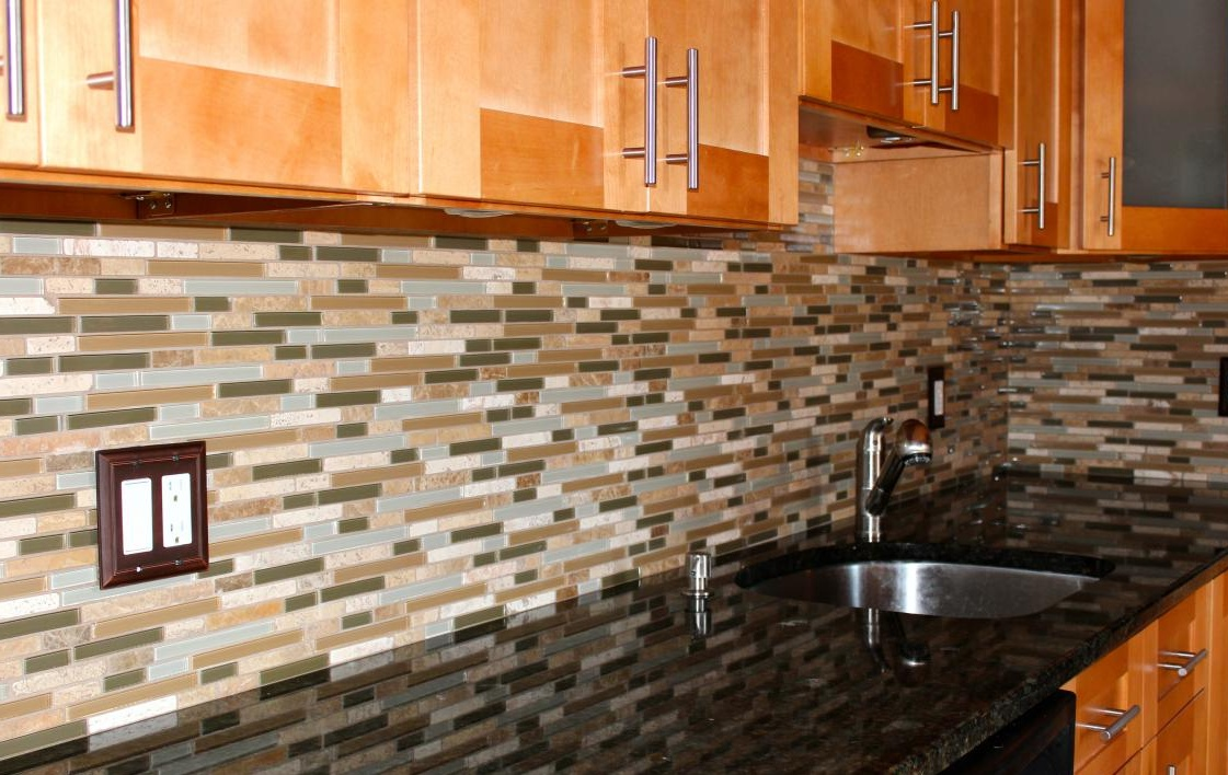 about mosaic glass marble backsplash glass and stone mosaic backsplash